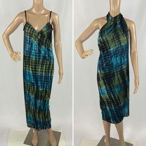 BNIP Tie Dye versatile swim cover dress